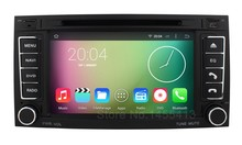 Quad Core 1024*600 Android 5.1.1 Car DVD Player for Volkswagen VW Touareg T5 Multivan Transporter with Radio GPS BT WiFi