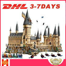 DHL SY 1192 6020pcs Compatible Legoing 71043 lepining Harri movie Potter Hogwarts Hall 16060 Building Blocks Bricks Toys Gifts(China)
