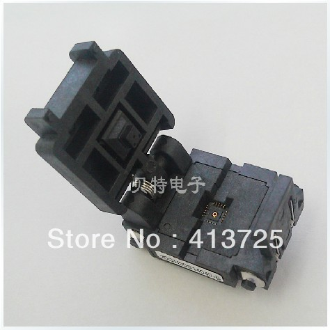 Original block QFN20/MLF20 block burning test, 20QN50S14040 conversion IC, ic qfp32 programming block sa636 block burning test socket adapter convert