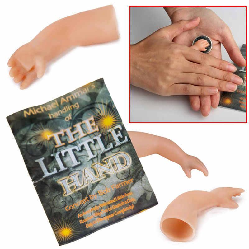 Assustador Comédia Minúsculo Pequeno A Mãozinha Truque de Mágica Mágico Adereços Brinquedos Close Up