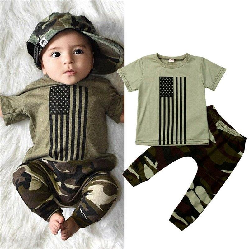 Gestreift Kurze Hose Set 2 Pcs Sommer S/äugling Baby Kurzarm Solide T-Shirt Tops