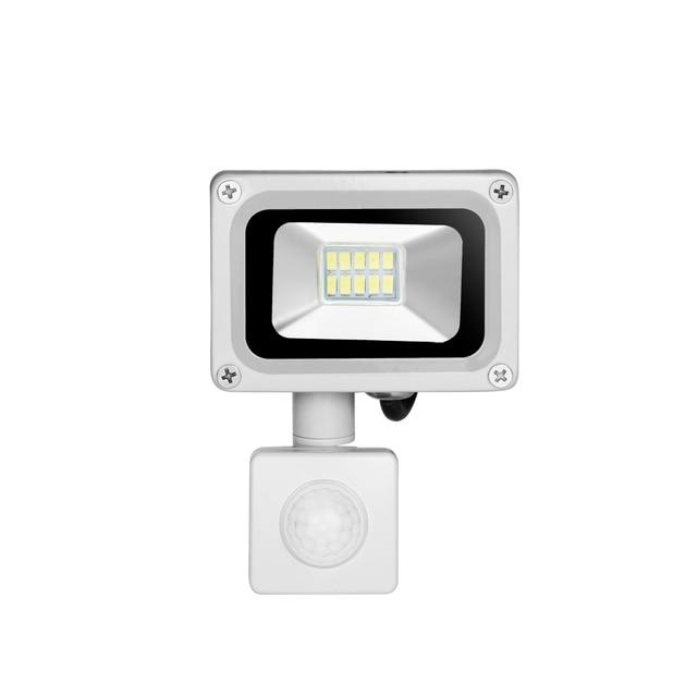 10W 220V Outdoor Led Spotlights Waterproof IP65 floodlight Motion Sensor Led Flood light Park outdoor Spotlight LED Street Lamp