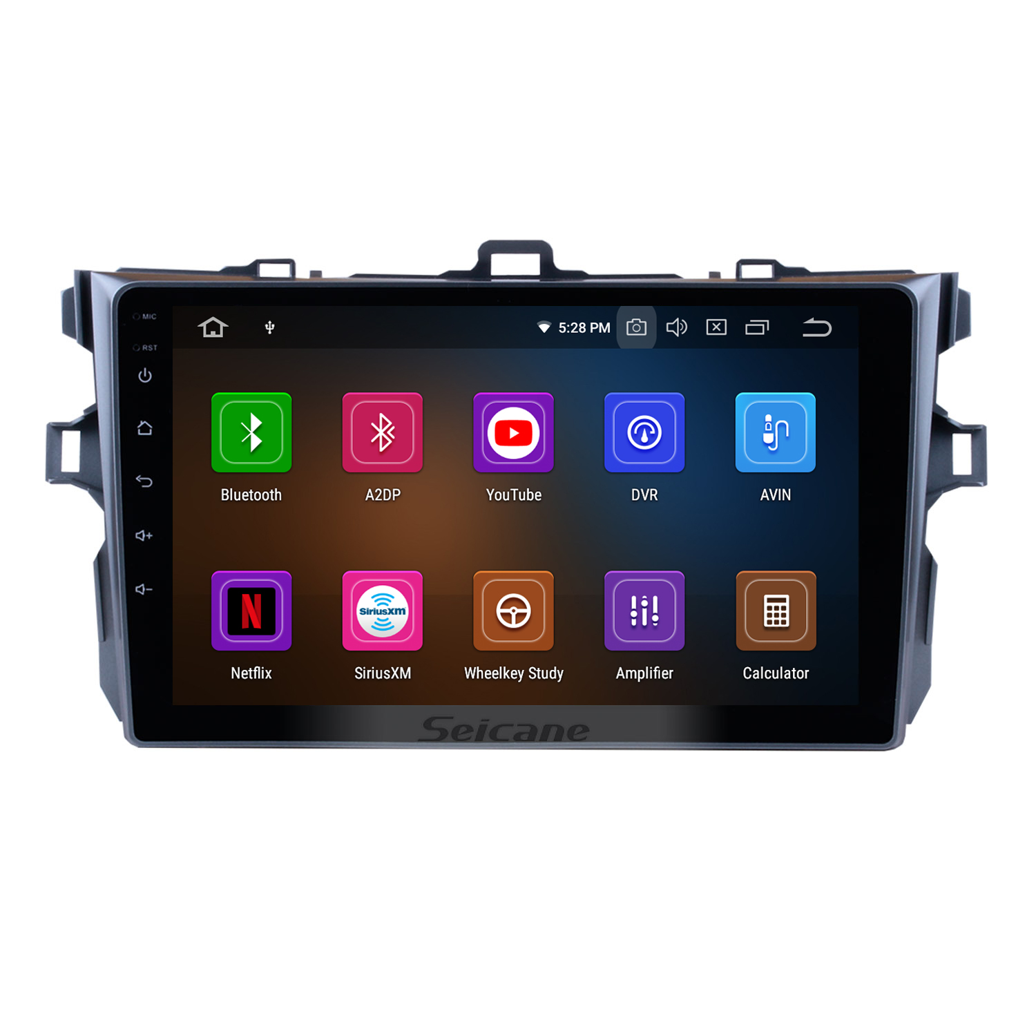 Seicane 9 inch Android 9 0 1Din Car Radio For Toyota COROLLA 2006 2007 2008 2009