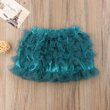 2018 Newborn Infant Baby Girls Princess Tulle Skirt tutu Short Mini Skirts Holiday Ruffles Solid Ball Gown Cute Lovely Skirts(China)