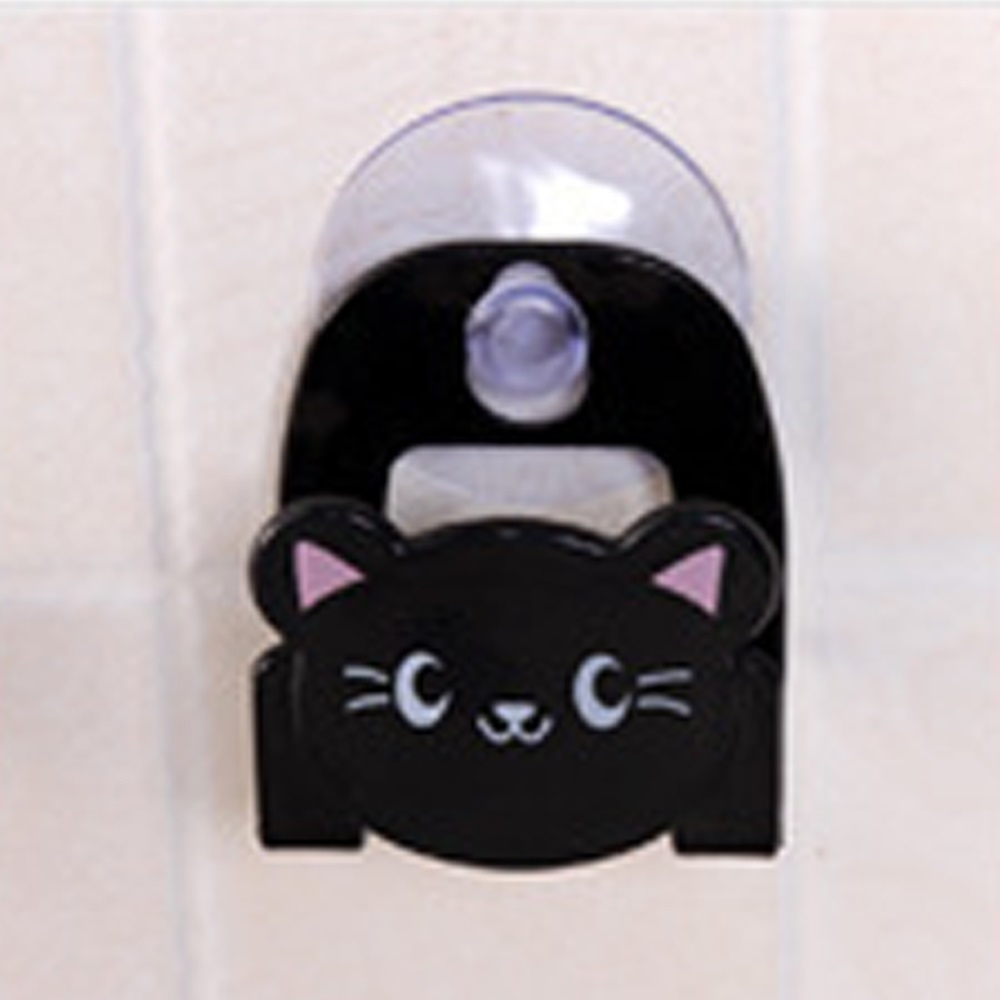 1pc Cartoon Animal Kitchen Sink Suction Storage Rack Sponge Soap Holder Clip Rag Storage Rack Toilet Bathroom Multi-Purpose Hook