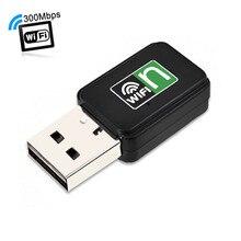 Mini-USB WiFi адаптер 300 Мбит Wi-Fi приемник внешний беспроводной сетевой карты портативный Adaptador Wi-Fi Dongle 802.11N/B/ g