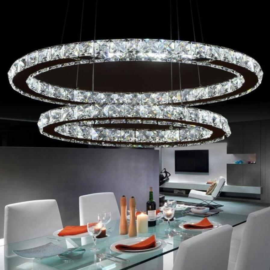 NEW stainless steel LED Chandeliers led lamps