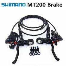 SHIMANO MT200 M315 M365 M355 тормоз Горный велосипед BR-M365 Hidraulic Дисковый Тормоз MTB левый и правый 800/1400 мм M355 тормоза Новые