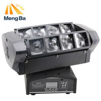 Free Shipping LED 8 10w RGBW CREE Beam Light 8 Eyes Mini Spider Light DMX512 Moving