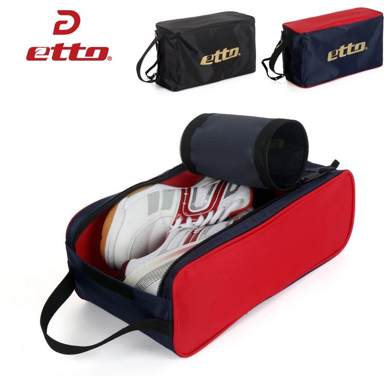 Etto Folding Fotboll Sportskor Förvaring Väskor Män Kvinnor Multifunktionell Fitness Gym Väskor Basket Träning Sneakers Väska HAB005