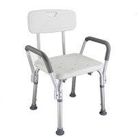 Tcare Для ванной душ стул табурет, скамейка Спецодежда медицинская Для Ванной сиденье для душа регулируемая высота Для ванной Ванна скамейке