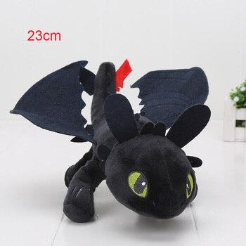 55cm 22cm 33cm 40cm Train Dragon Toothless Dragon Soft Stuffed Animal Plush Toys Juguetes de Peluches Bebe 24