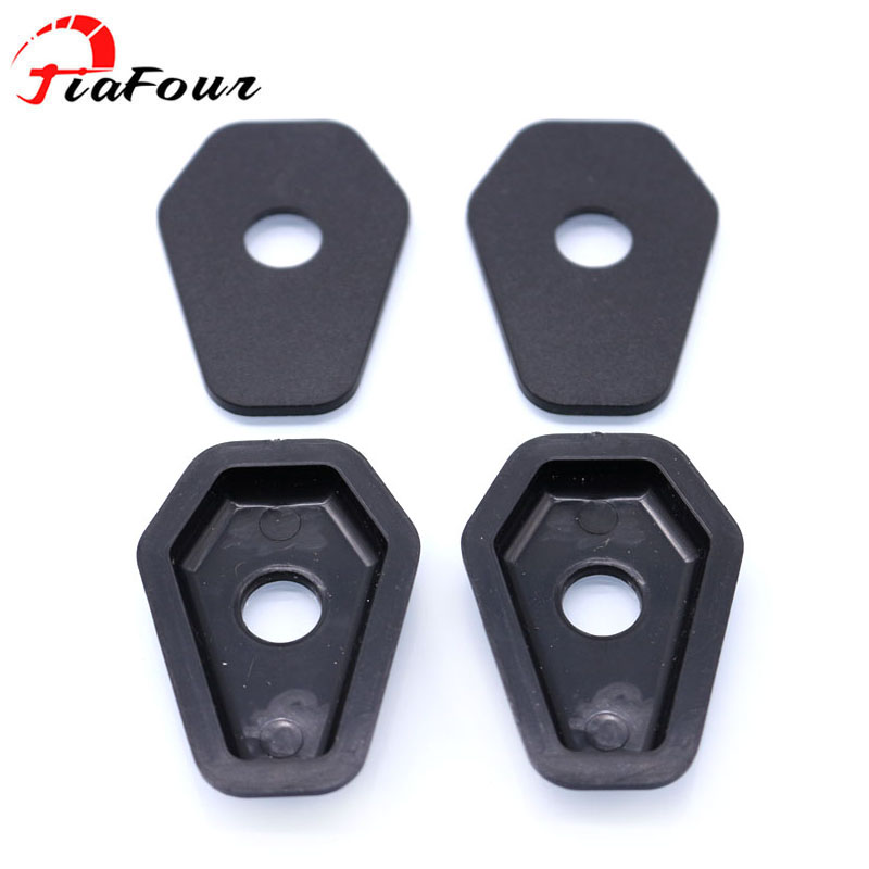 4pcs Turn Signal Adapter Plate Spacer For Suzuki SV650S SV1000S GSXR600 750