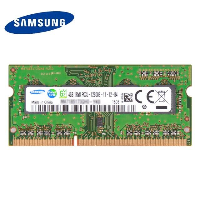 SAMSUNG DDR3L Memória RAM DDR3 2G 4G 8G Laptop DDR 1600 Memória DRAM Vara para Notebook Originais 1.35 V