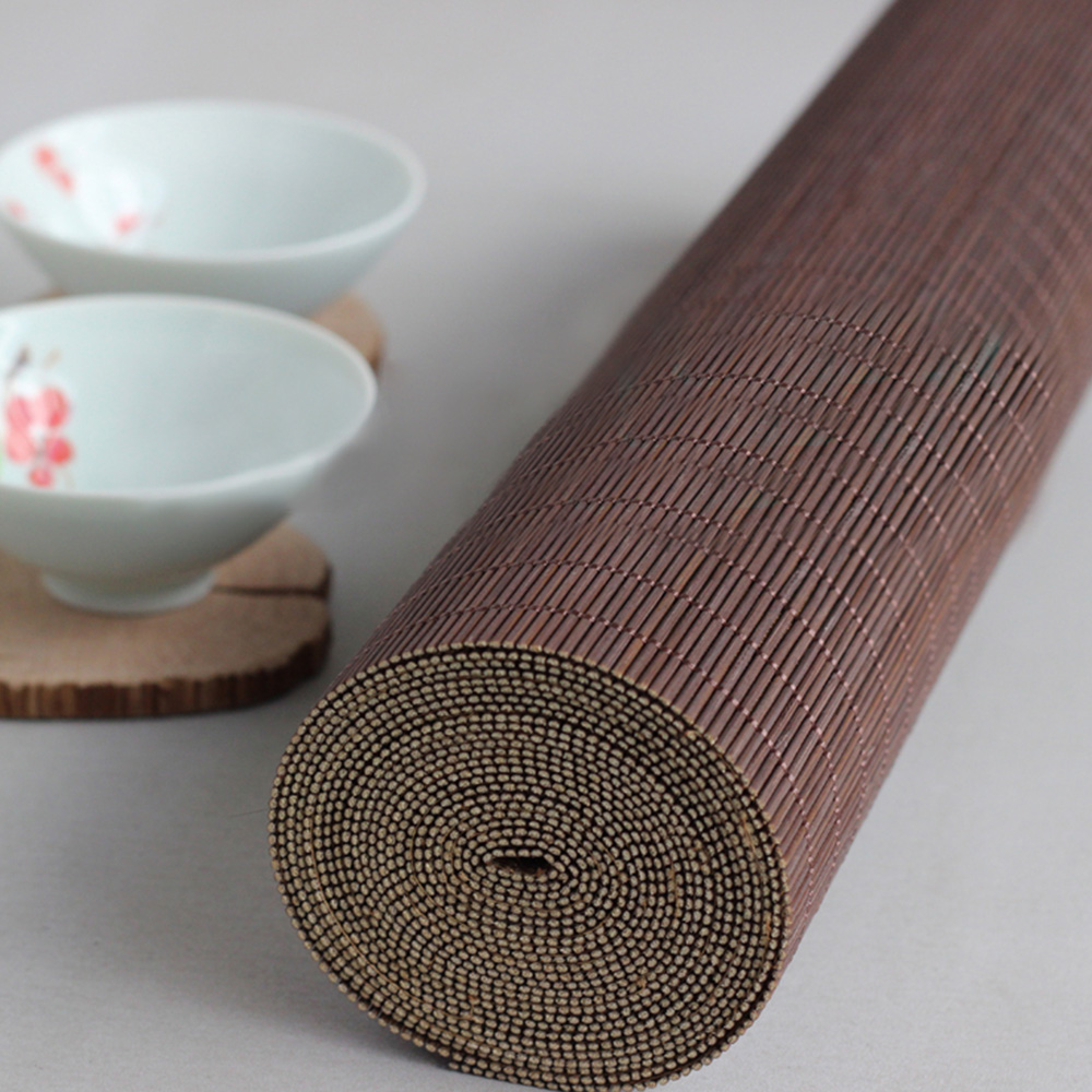 RAYUAN Bamboo Table Runner Placemat Tea Mats Table Placemat Pad Ceiling Decor Home Cafe Restaurant Decoration