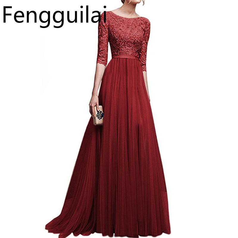 6c228d10d7590 Buy women elegant gowns lace and get free shipping | bestseller.mx.tl