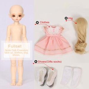 Image 5 - ROSENBJD Doll RL Holiday Cute doll Joint baby bjd sd dolls 1/4 body model girls High Quality resin  girl birthday present
