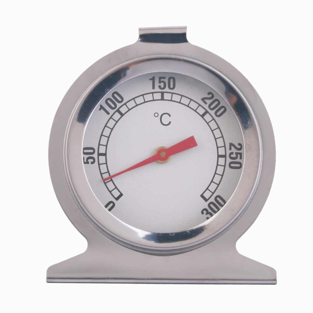 Stainless Steel Oven Thermometer Kitchen Cooking Meat Temperature Measuring Tool