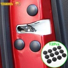 12 шт. Автомобильный Дверной замок Защитная крышка винта для Nissan Qashqai J11 J10 Xtrail T30 T31 T32 Juke Murano Versa Sentra Altima