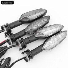 For KAWASAKI KLE 650/1000 Versys ER-6N KLR650 ZRX 1200 Motorcycle LED Rear Turn Signal Blinker Indicator Light Flash Lamp