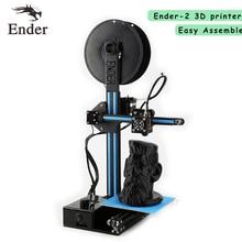 2017 Популярные Ender-2 3D принтер DIY Kit легко собрать дешевые RepRap Prusa i3 3D принтер с нити + 8 г SD Card + Инструменты
