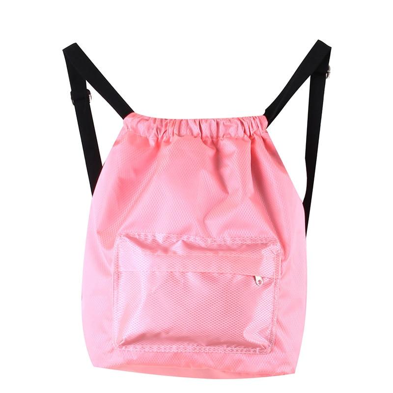 Dry Wet Gym Drawstring Bags For Fitness Travel Shoulder Bag Handbag Waterproof Sports Shoes Women Men Sac De Sport Training Bag Storage Bags