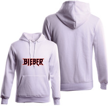 Winter Fleece Hip Hop Women And Men Justin Bieber Hoodie Tracksuit Men Street Fashion Hoodies Purpose Tour Sweatshirt Cotton
