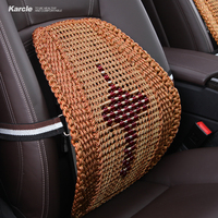 Karcle Ice Silk Lumbar Back Seat Support Breathable Pillow Cushion Seat Ametabolic Car Seat Support Car styling Auto Accessories