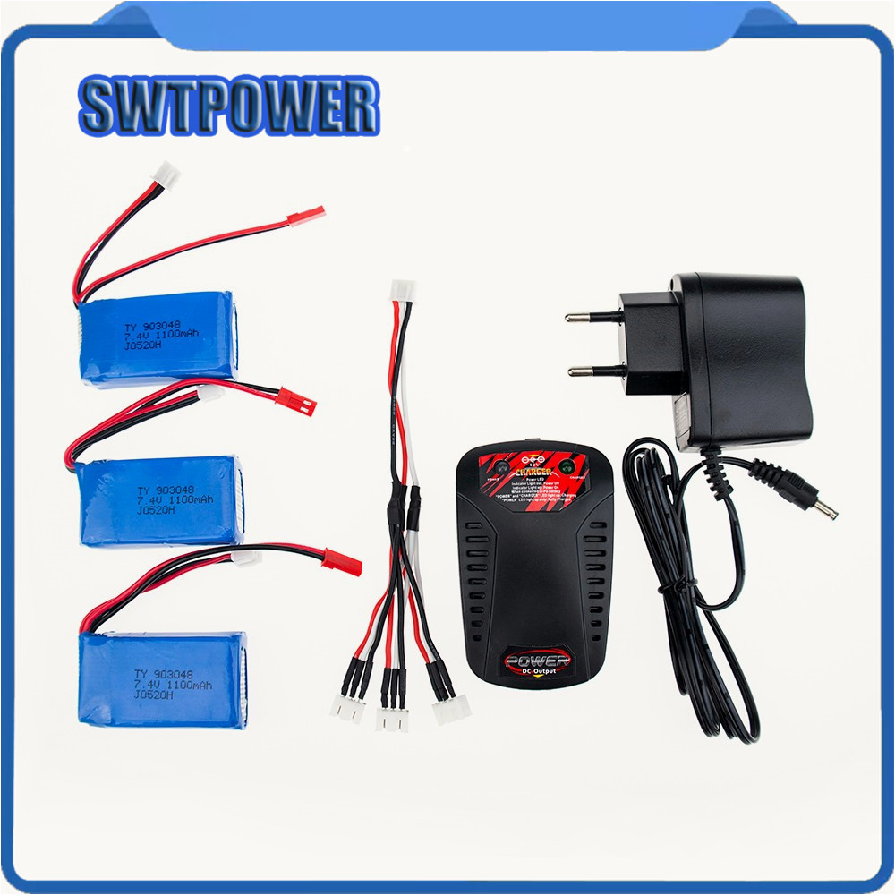 7.4V 1100mah EU plug balance charger Wltoys A949 A959 A969 A979 K929 LiPo Battery JSTplug Part for Wltoys RC Part Wholesale