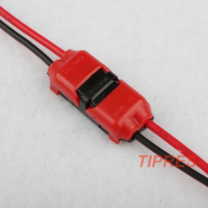 10PCS 2p Spring Connector wire with no welding no screws Quick ...