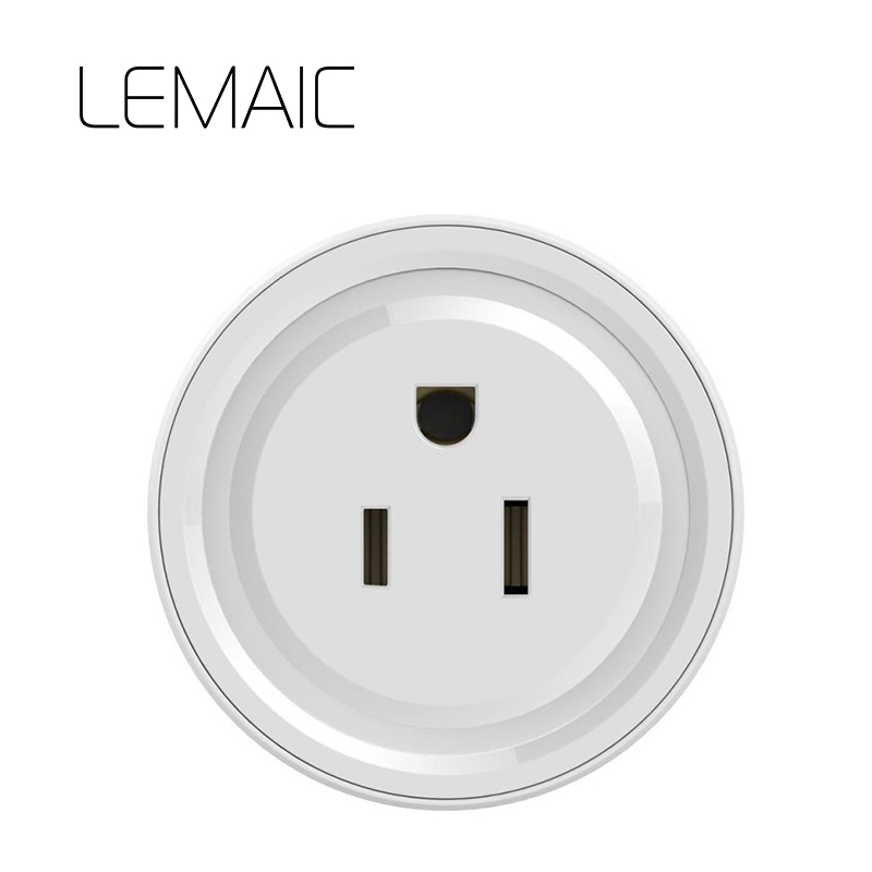 LEAMAIC US Waterproof Power Meter Monitor 16A+Timer wifi socket plug outlet Smart remote wireless Controls for iphone Ipad original broadlink sp3 sp3s power meter monitor 16a timer wifi socket plug outlet smart remote wireless controls for ios android