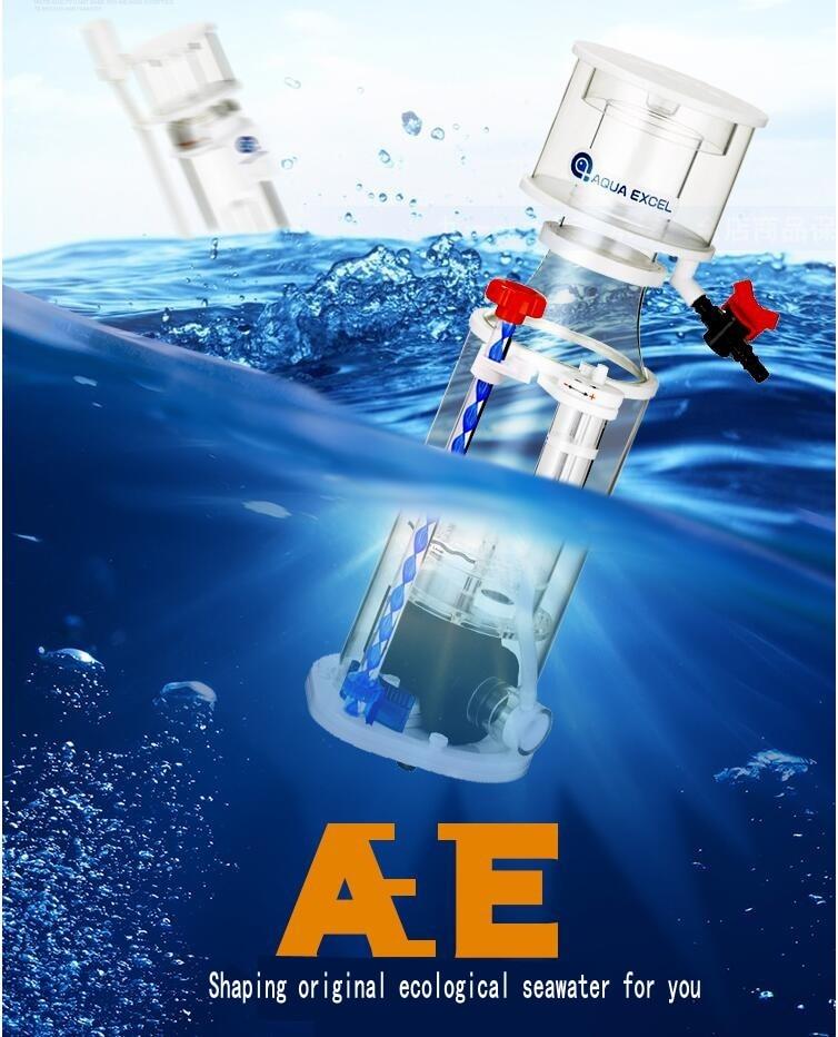 AQUA exel AE 801 немой встроенный белковый сепаратор азотный генератор толстый насос с креплением на стену безопасности формирование оригинальный