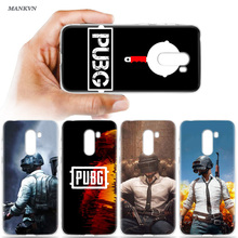 PUBG Game Art Print Soft TPU Cover Case for Xiaomi