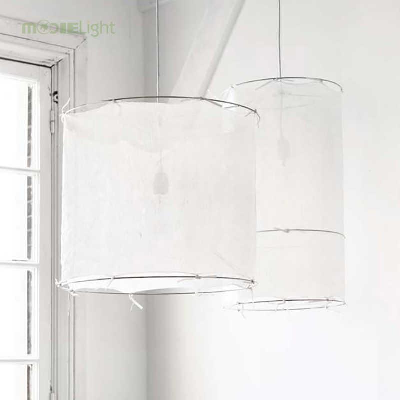 Modern Led White Ribbon Pendant Lamp