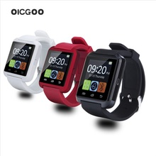 Smartwatch Bluetooth Smart Uhr U8 Armbanduhr digitale sportuhren für IOS Android phone Wearable Elektronische Gerät