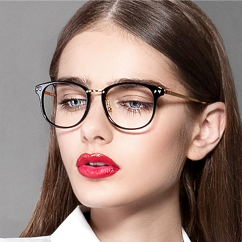 aliexpresscom buy 2016 vintage metal myopia optical frame brand design fashion eye glasses frame for women eyeglasses women ladies eyewear frames from
