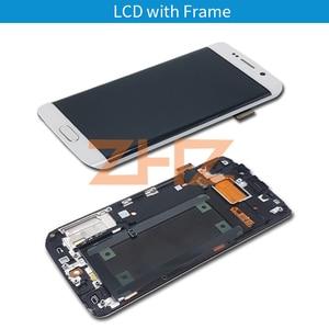 Image 3 - สำหรับ Samsung Galaxy S6 EDGE จอแสดงผล LCD Touch Screen Digitizer ASSEMBLY G925 SM G925F G925F พร้อม Frame REPLACEMENT Repair Part