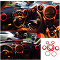 8pcs/lot car accessories for mini cooper Countryman R60 interior covers pink checkered