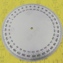 diameter:160mm inner d:6mm  thickness:2mm Industrial measuring disc stainless steel angle mechanical fittings