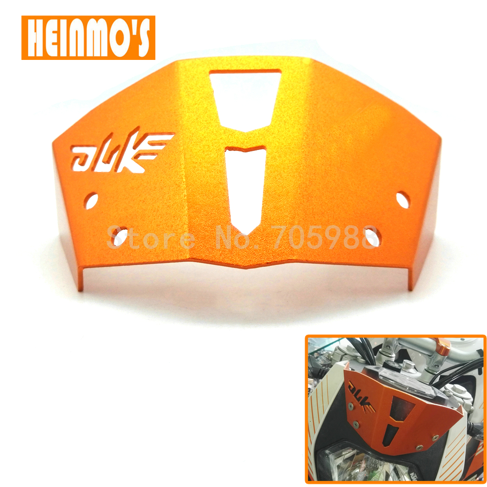 Hot sale Orange Color Motorcycle CNC Windshield Windscreen For KTM Duke 125 200 390 2013-2016 Duke dirt bike hot sale motorcycle leather passenger pillion rear seat for ktm 390 duke black red orange