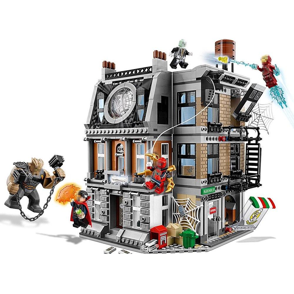 Super Heroes Sanctum Sanctorum Showdow Avengers Unendlichkeit Krieg Gebäude Block Set Film Klassische Kinder Spielzeug Marvel Kompatibel Legoe
