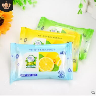 300pcs=30bags Small Bag Of Wet Wipes Easy Pack For Adults Clean Fragrant Moisturizing Wipes