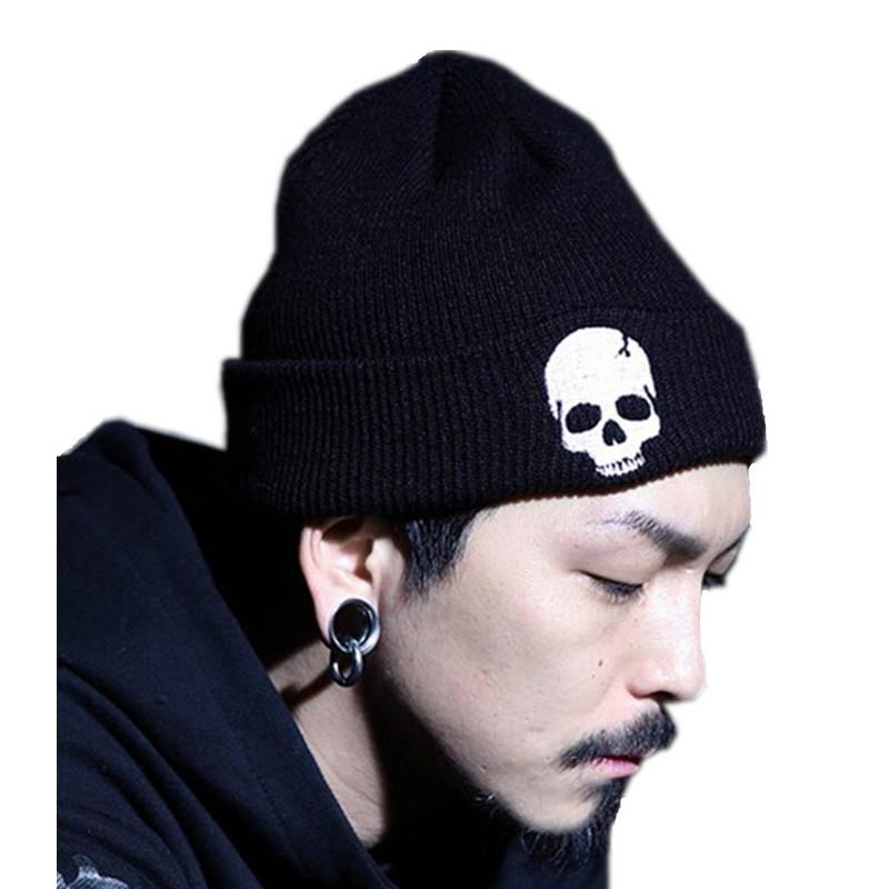 1d9b3fa1f08 Skull Beanies Men S Hat Winter Hats For Men Women Winter Knit Hat ...
