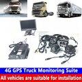 Fahrzeug-montiert Überwachung quelle fabrik direkt verkauf 4G GPS Lkw Überwachung Suite unterstützt docking remote plattform SD karte DVR