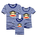 Family Matching Clothes 2017 Summer Family T-shirts Short Sleeve Mother Father Daughter Son Girls T-shirt Family Look Clothes