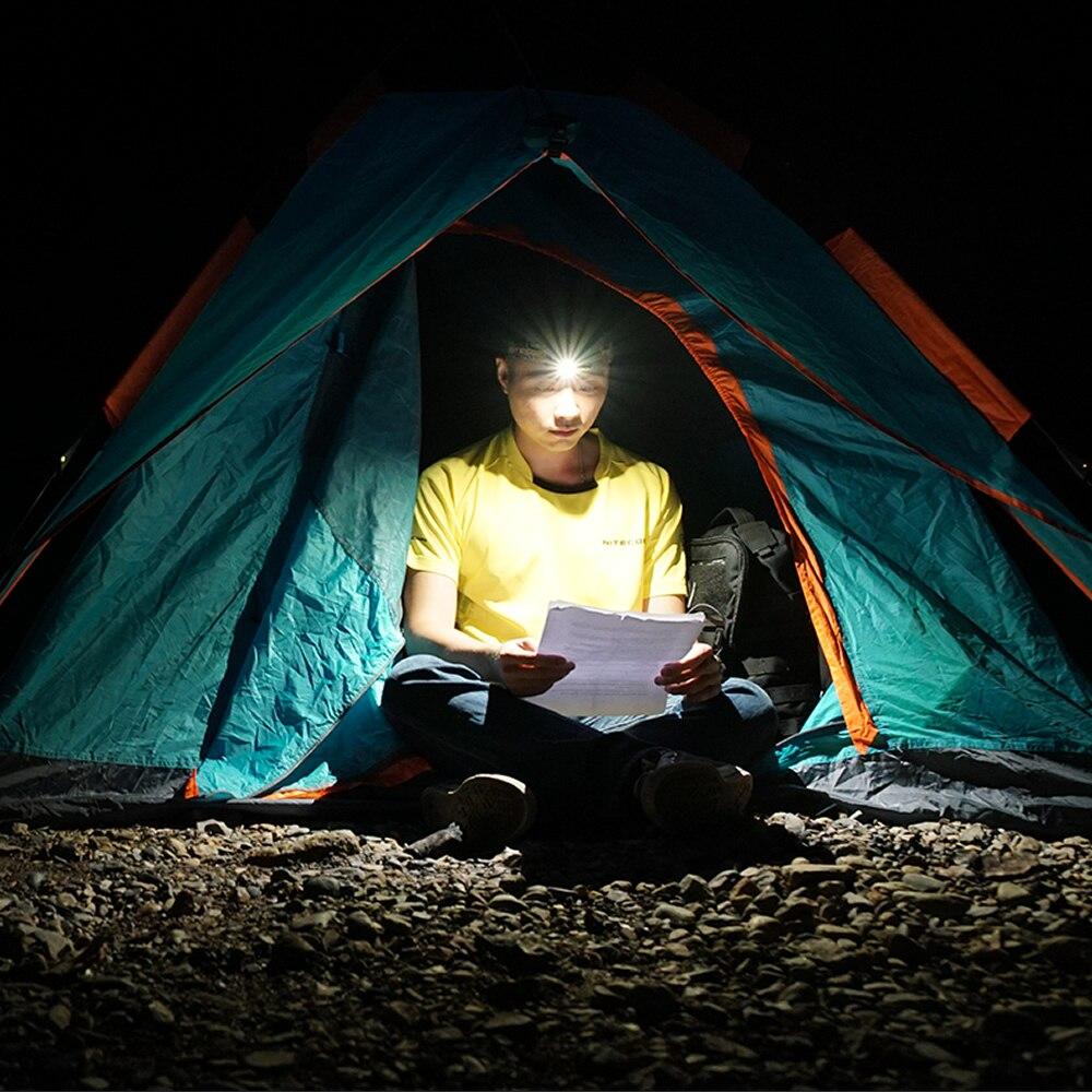 2019 NITECORE HC65 18650 Rechargeable Battery Headlamp 1000LM CREE XML2 U2 LED Headlight Waterproof Camping Travel Free Shipping