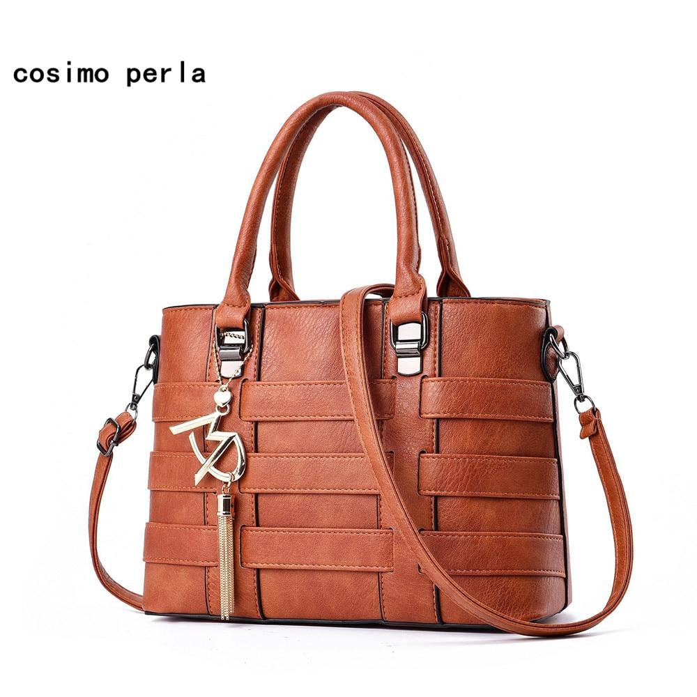 Plaid Design Women Leather Bag Elegant Letter Tassel Totes PU Luxury Brand Fashion 2018 Fall New Ladies Crossbody Handbags Purse цена 2017
