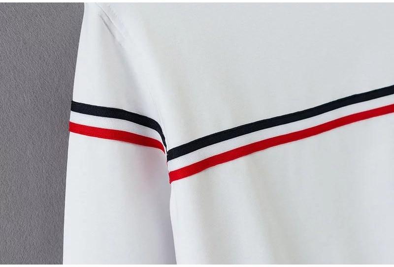 HTB1QJvsSXXXXXX9aFXXq6xXFXXXk - Long Sleeve Striped Sweatshirts Kpop PTC 72