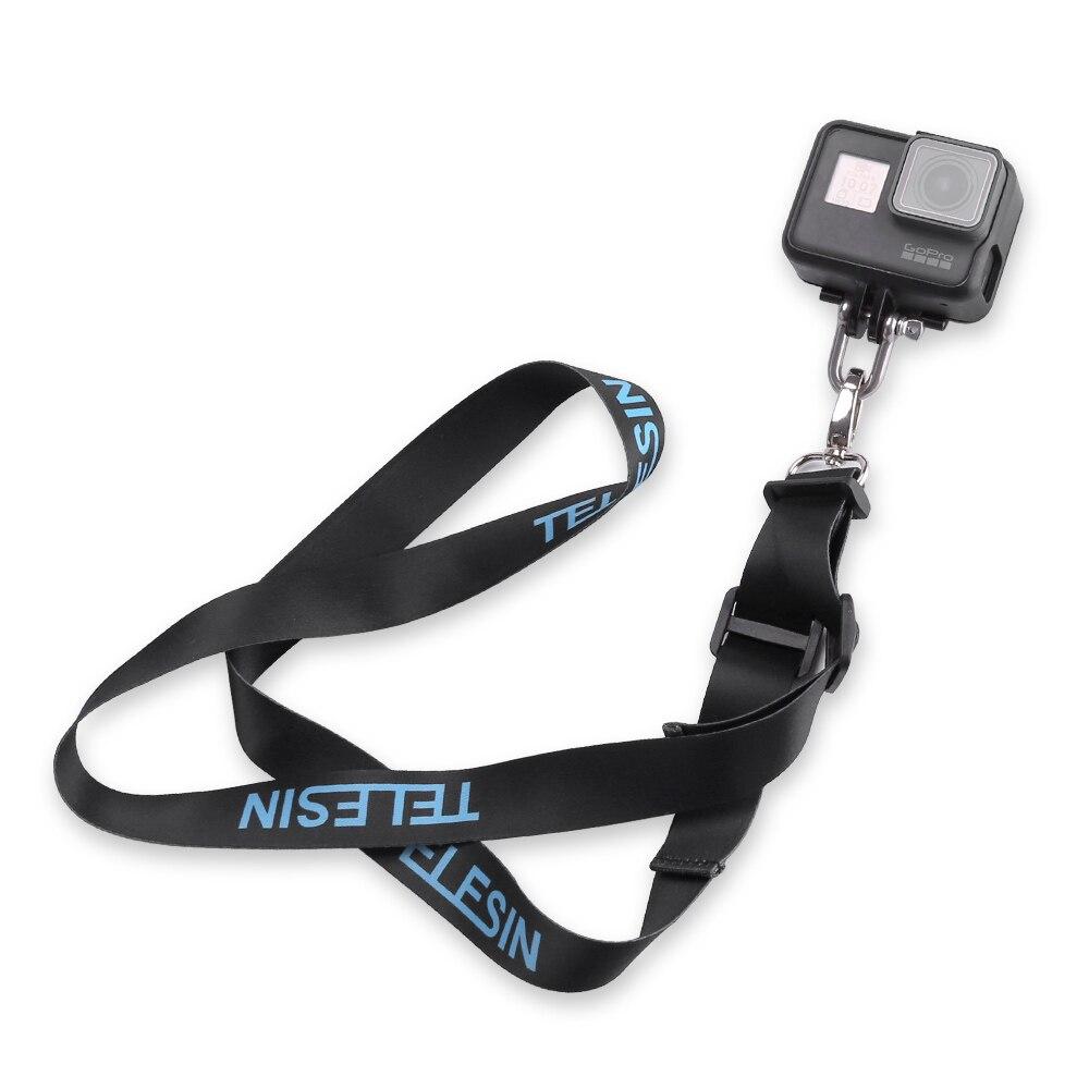 TELESIN Detachable Neck Shoulder Strap Lanyard Sling Mount for GoPro Hero 5 4 Session 5 4