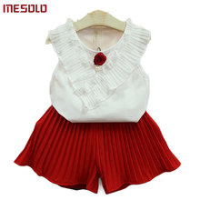 MESOLO relaxed and children's wear sleeveless suit summer 20